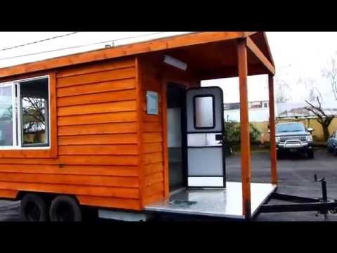 For Sale Cedar Vending Food Cart