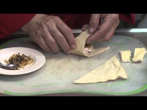 Pastry With Brie & Carmelized Onions : Onion Recipes