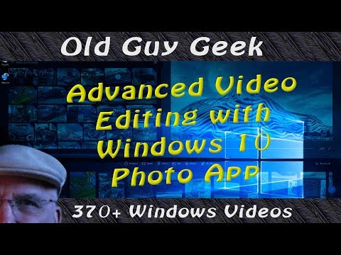 Edit Advanced Videos in Photos App for Windows 10