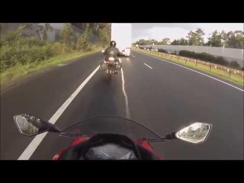 Motorbike Crash - Adventures - Sydney Australia