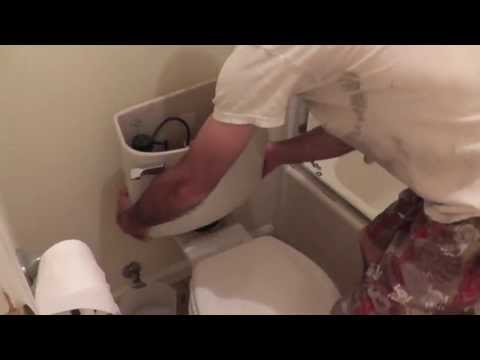 How To Repair A Toilet That Leaks Or Always Has The Water Running