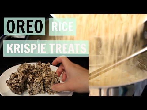 Oreo Rice Krispie Treats (With Dairy-Free Option) - Dairy Free Recipe
