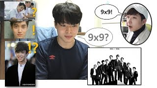 Korean Men React 9x9  Hypnotize