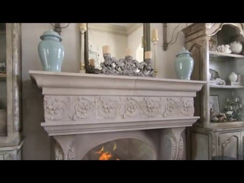 DeVinci Cast Stone Fireplace Surround Options Overview