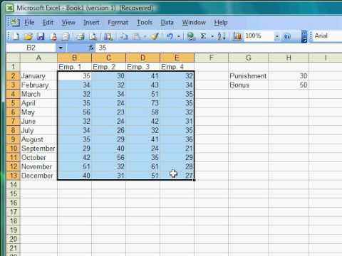 Excel Tutorial 18 of 25 - Conditional Formatting