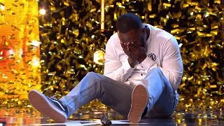 GOLDEN BUZZER Comedian Kojo made Judges laugh so much on Britain's Got Talent 2019