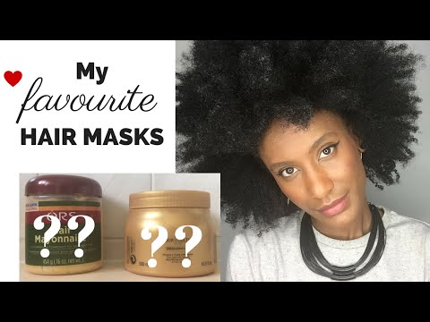 My favourite HAIR MASKS for HEALTHY natural afro hair