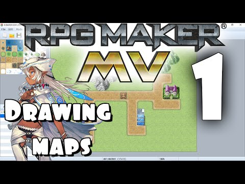 RPG Maker MV Tutorial #1 - Drawing The Map!