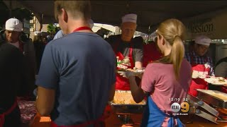 LA Mission Serves Up Early Thanksgiving Feast For Those In Need