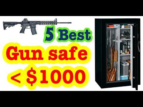 Best Gun Safes Under 1,000 Dollars to Buy in 2017