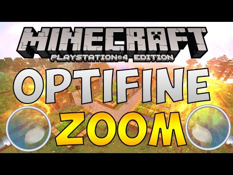 OPTIFINE MINECRAFT PS4?? COME METTERE LA OPTIFINE ZOOM MINECRAFT PS4 ITA ( TUTORIAL )