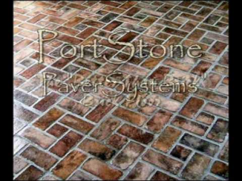 PortStone Brick Flooring Video
