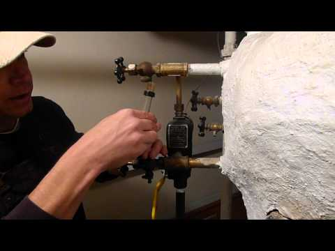 Boiler Sight-Glass Cleaning/Changing
