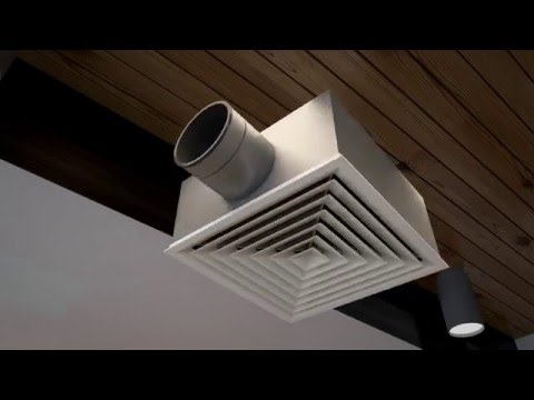 Ducted Air Conditioner in a Restaurant Animation