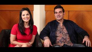 Sunny Leone & Arbaaz Khan's SUPERB rapid fire | Tera Intezaar