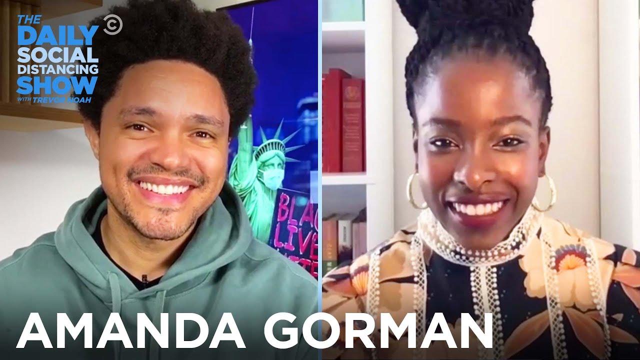 "Amanda Gorman - ""The Hill We Climb"" & Activism Through Poetry | The Daily Social Distancing Show"