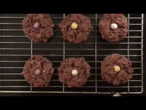 Chocolate Cornflake Easter Cupcakes