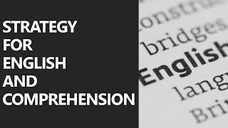 Strategy for English and Comprehension (in Hindi)