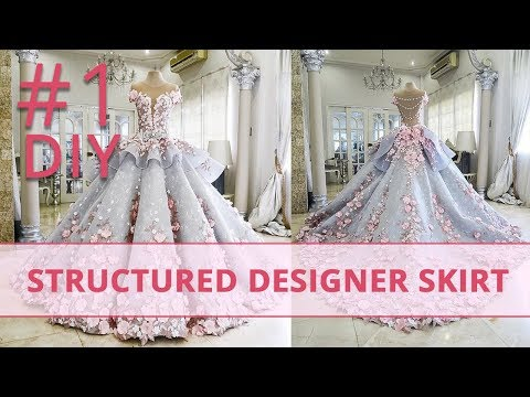 How to Make Structured Designer Skirt? Corset Academy Courses