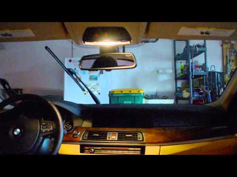 2012 BMW 528i xDrive [How-To] Windshield Wiper - Upright Position