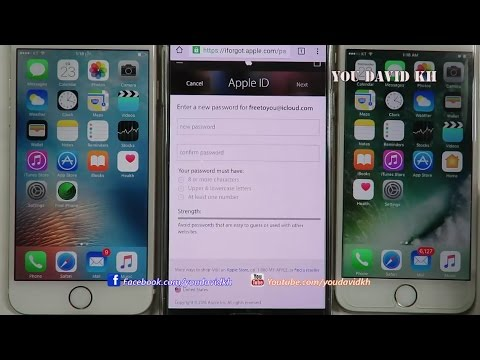 How to Reset Password Apple ID - #YouDaVid