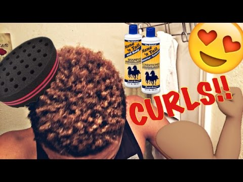 How to: Curly Hair for Black Men (UPDATED) | Hair Update | JustJonahTV