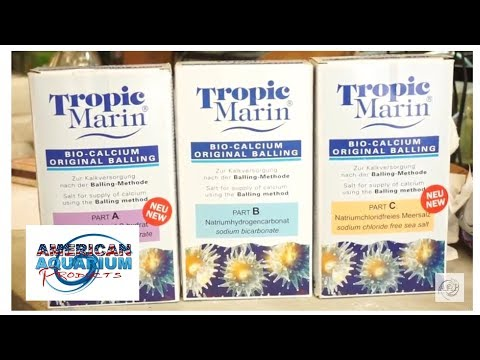 Tropic Marin Balling- Saltwater Aquarium Basics | Reef Supplies