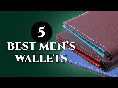 5 Best Wallets For Gentlemen - Quality Leather Billfold, Card Case, Phone, Slim & Men's Coat Wallet