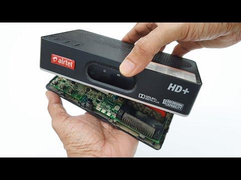 Airtel HD set top box -  What's Inside??