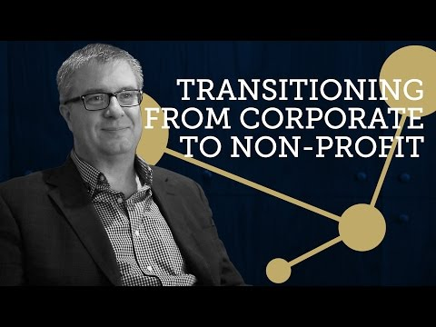 Transitioning from Corporate to Non-Profit - Dave Addison | Talking with Charities