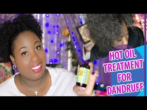 HOW TO DO A HOT OIL TREATMENT WITH CASTOR OIL FEAT JAMAICAN MANGO & LIME EUCALYPTUS CASTOR OIL