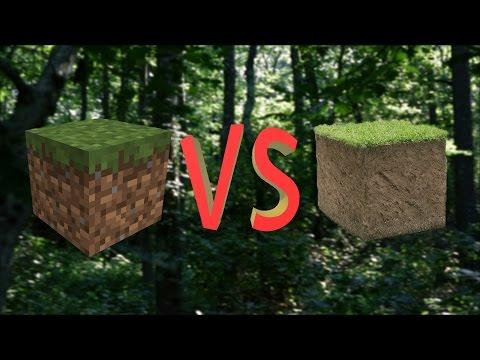 Minecraft vs Real Life