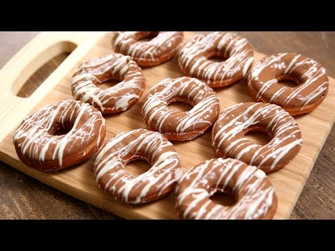 Homemade Chocolate Donuts | How To Make Donuts | The Bombay Chef – Varun Inamdar