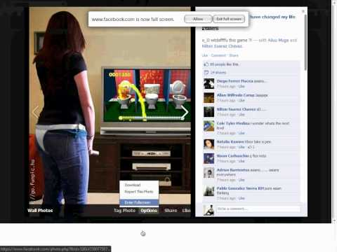 Trick To View Facebook Photos in Full Screen Mode.avi