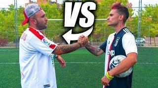 KIKO RIVERA VS DELANTERO09 - Retos de Fútbol Épicos