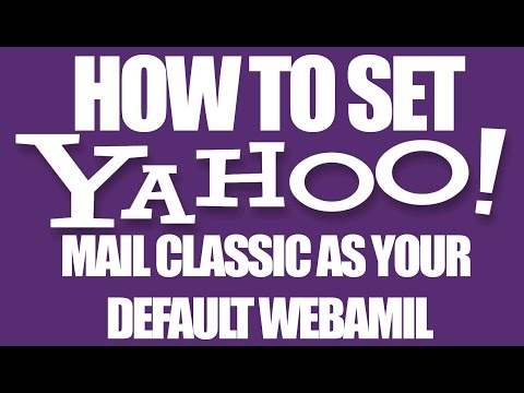 How to Get Classic Yahoo Mail (Old Layout)  - Yahoo Email Services