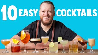 Download 10 EASY COCKTAILS IN 10 MINUTES Video