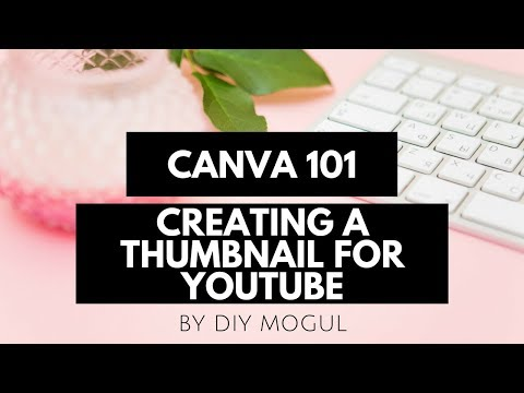 Creating a Canva Thumbnail for youtube