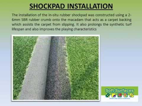 Sports Surfaces Insitu Rubber Shockpad