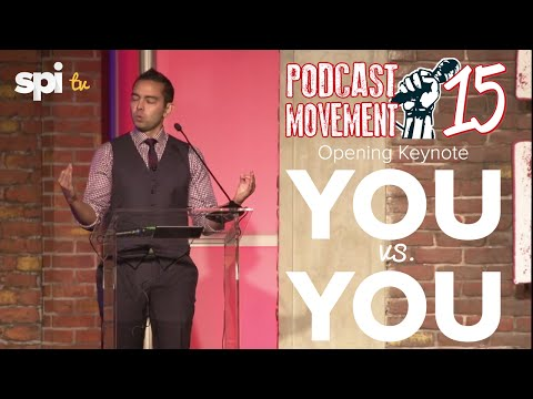 Podcast Movement 2015 Opening Keynote by Pat Flynn - You vs. You (SPI TV - Ep. 26)