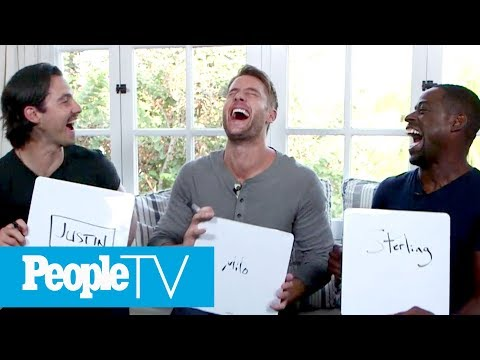 'This Is Us' Men Reveal Who's Sexiest, Has The Most Infectious Laugh & Much More   PeopleTV