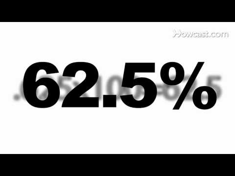 How to Calculate Percentage