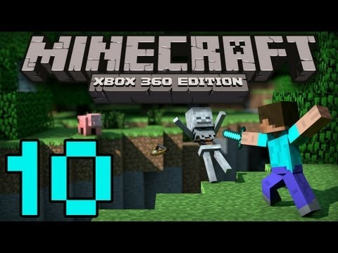 Minecraft 360   Build Height Limit DOUBLED!   Redstone Lamps, Iron Golems, Ocelots and More!
