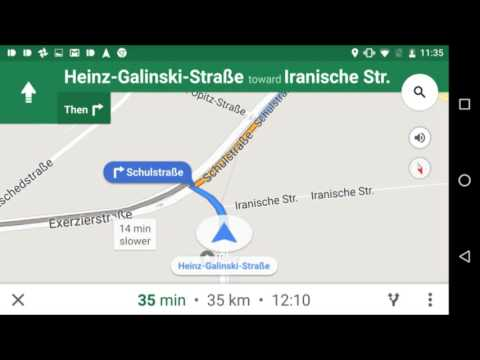 Google Maps rolling out heads up navigation bubbles for upcoming turns