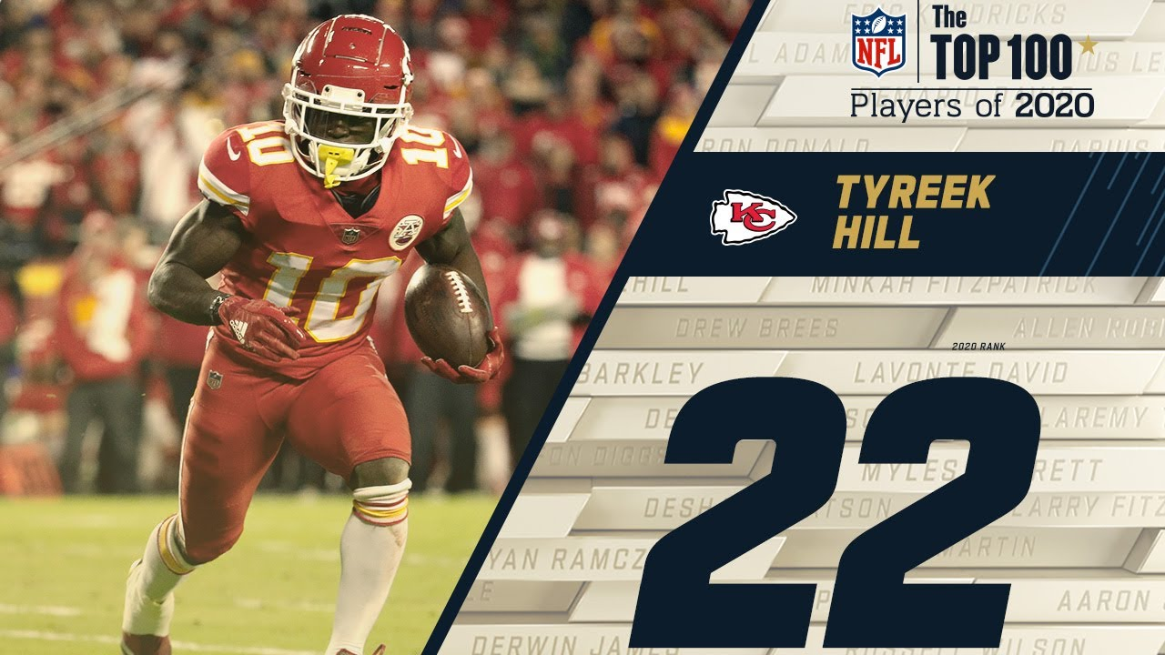 #22: Tyreek Hill (WR, Chiefs) | Top 100 NFL Players of 2020