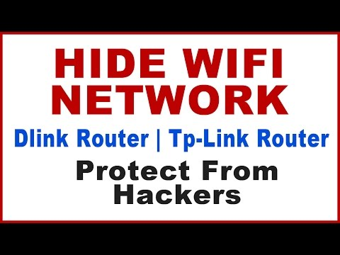 How to hide wifi network of your D'link router,Tp-link router|how to hide your wifi network (ssid) ?