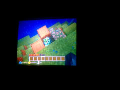 Minecraft Xbox 360 edition-Charged Creeper!!!