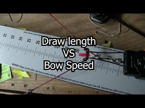 Impact of Draw Length on Bow Speed