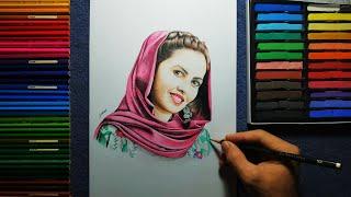 Download Drawing Of Maryam khorami | نقاشی مریم خرمی Video