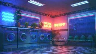 The Aesthetic Laundry 4K 🔴 Lofi Radio 24/7 🌃 Chill Lofi Hip Hop Beats to sleep/ study to
